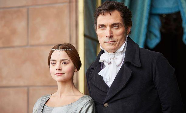 Sarjassa Victorian ja Melbournen välillä on romanttista jännitettä.