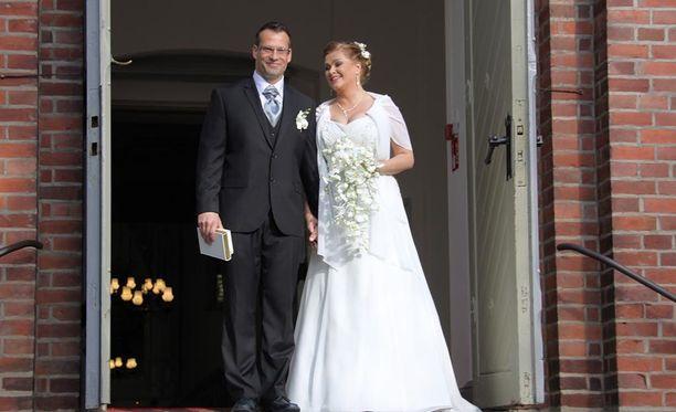 Tarja Smura ja Markus Haapasalo avioituivat kesällä 2013.