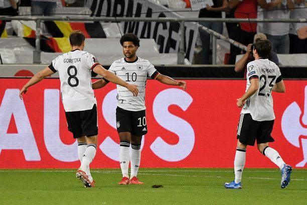 Saksa pelasi erinomaisesti syyskuun MM-karsintapeleissä.