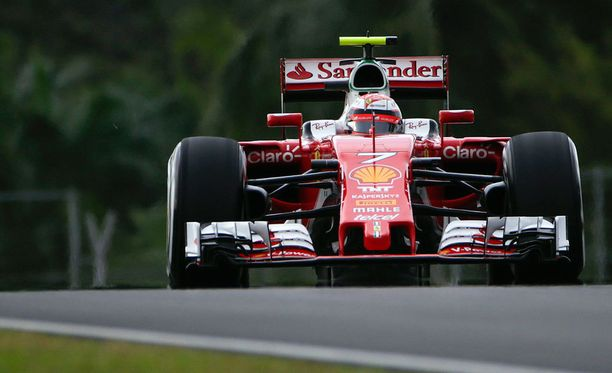 Kimi Räikkönen ajoi neljänneksi Malesiassa.