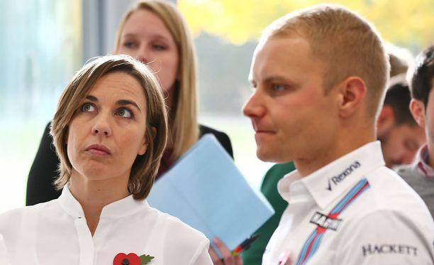 Claire Williamsin ja Valtteri Bottaksen tiet erkanivat.