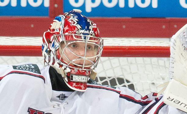 Ville Husso antautui kerran ensimmäisessä erässä.