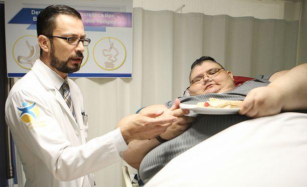Sairaalassa Franco noudatti tiukkaa dieettiä.