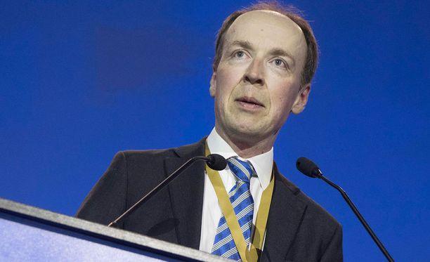Jussi Halla-ahon mukaan puolueella ei tällä hetkellä ole selkeää ehdokasta presidentinvaaleihin.