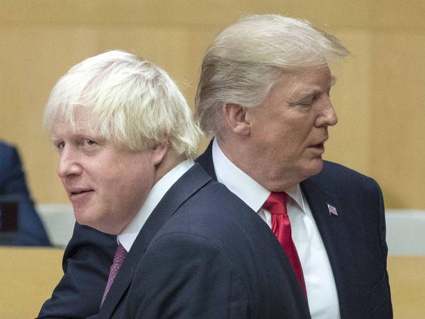 Löytävätkö Johnson ja Trump yhteisen suunnan?