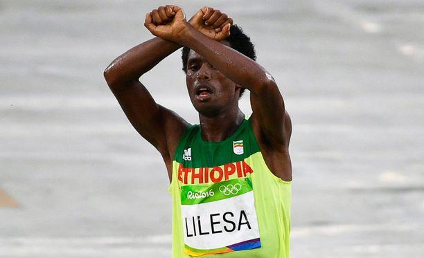 Feyisa Lilesan ele maaliviivan jälkeen oli tarkoin mietitty.