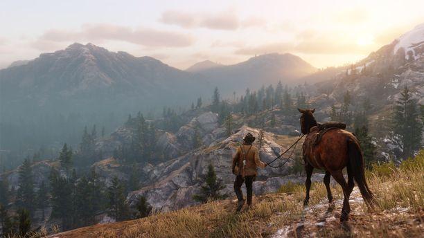 Red Dead Redemption 2:n maailman on todella kaunis.
