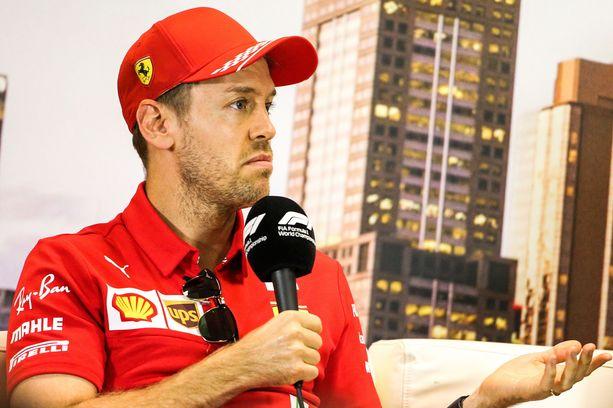 Sebastian Vettel ei jatka Ferrarilla enää ensi vuonna.