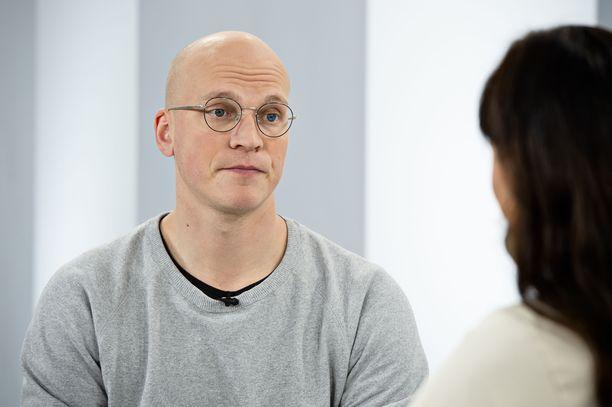 Riku Nieminen on kieltäytynyt Munamiehen roolista jo kymmeniä kertoja.