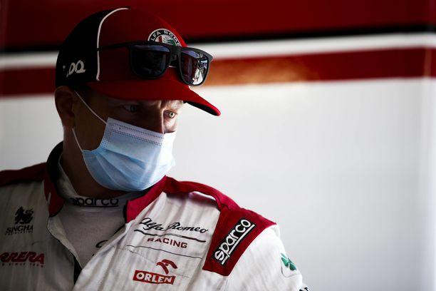 Kimi Räikkönen karsiutui jo Q1-osiossa.