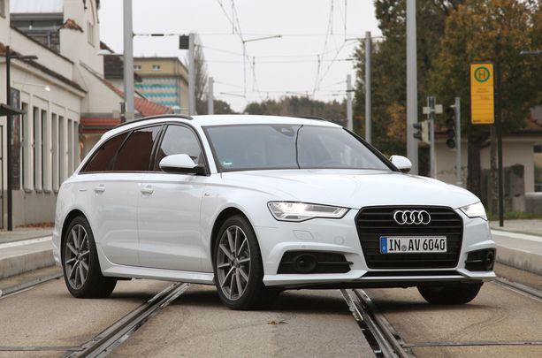 Iso Audi A6 TDI - alennus liki 6 000 euroa.