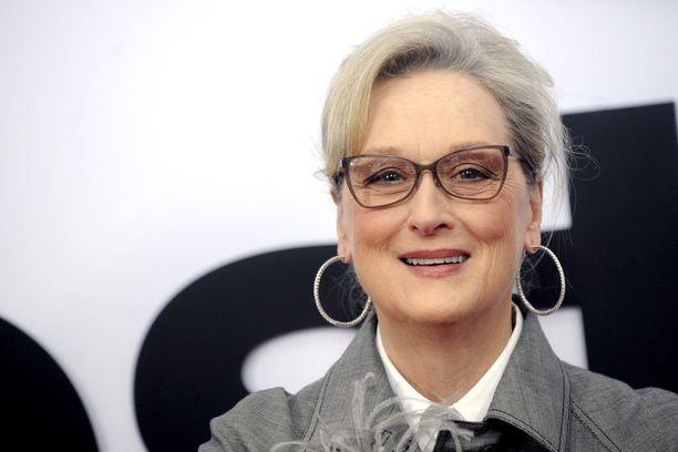 Näyttelijälegenda Meryl Streep on yksi sadoista naisista Time's Up -aloitekampanjan takana.