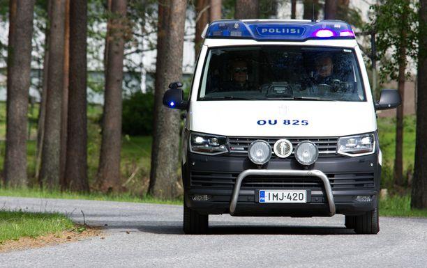 Kuljettaja pakeni poliisia Keminmaasta Tornioon perjantai-iltana. Kuvituskuva.