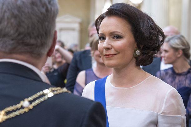 Rouva Jenni Haukio emännöi tänä vuonna Linnan juhlia jo kahdeksatta kertaa.