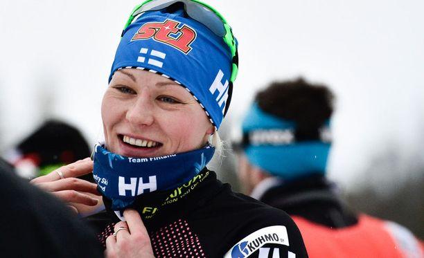 Anne Kyllönen oli alkuerien paras suomalaisnainen.