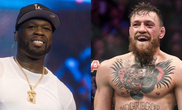 Curtis Jackson, eli 50 Cent, vitsaili Conor McGregorin puuhista.