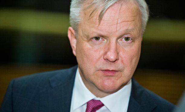 Elinkeinoministeri Olli Rehn järjestää tiedotustilaisuuden tänään kello 17.