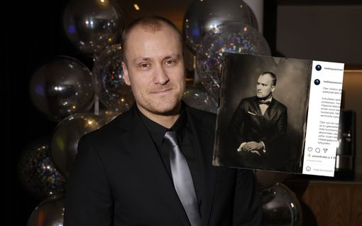 """Heikki Paasonen täyttää 38 vuotta – hauska päivitys vanhentumisen seurauksista: """"Nuolen sormiani ennen sivun kääntämistä"""""""