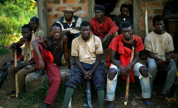 Keski-Afrikan tasavallassa sotii tällä hetkellä useita eri kapinallisryhmiä.