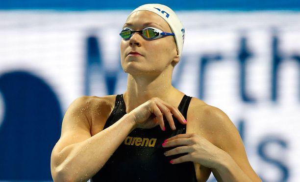 200 metrin rintauinnin finaali jäi Jenna Laukkaselle pelkäksi haaveeksi.