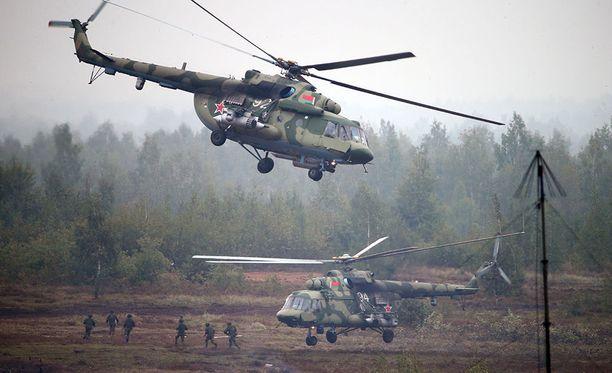 Venäjän ja Valko-Venäjän Zapad-sotaharjoitus alkoi syyskuussa ja kesti kymmenen viikkoa.