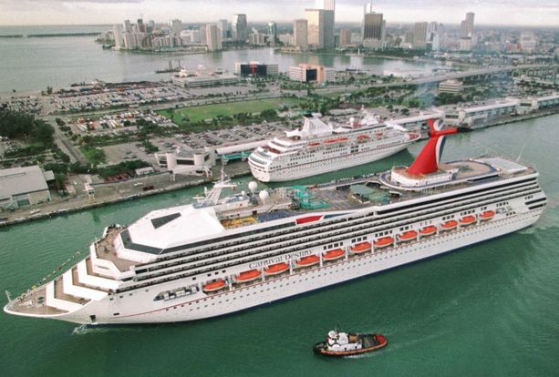 Karibian-risteily alkaa Miamista.