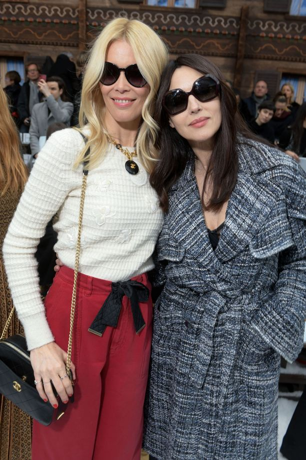 Claudia Schiffer ja Monica Bellucci