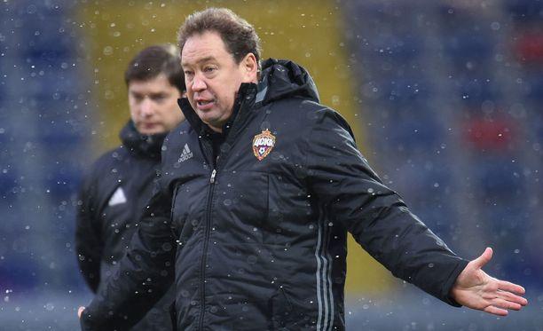 Leonid Slutski jättää Moskovan ZSKA:n seitsemän menestyksekkään vuoden jälkeen.