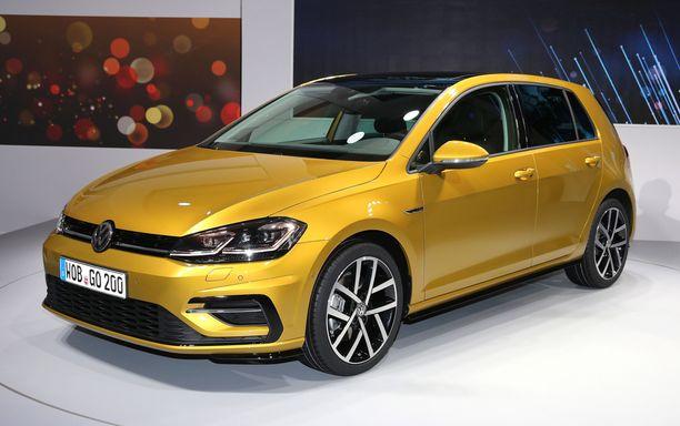 39.Volkswagen Golfiin saa myös konsernin kaasuautotekniikan.