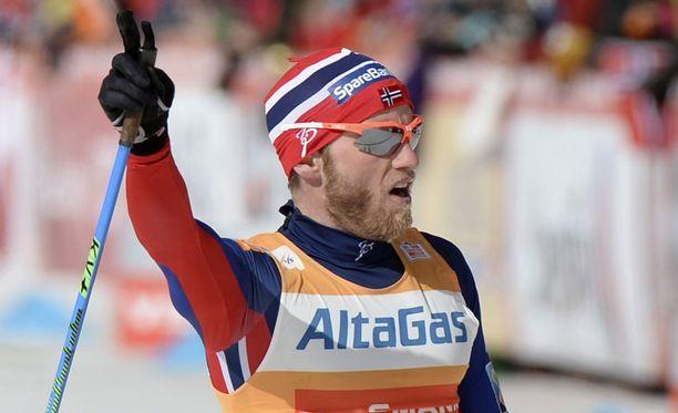 Martin Johnsrud Sundby sai dopingtuomion astmalääkkeen väärinkäytöstä.