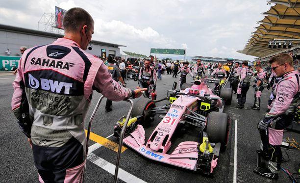 Force Indian molemmat kuskit ajoivat Malesiassa pisteille.