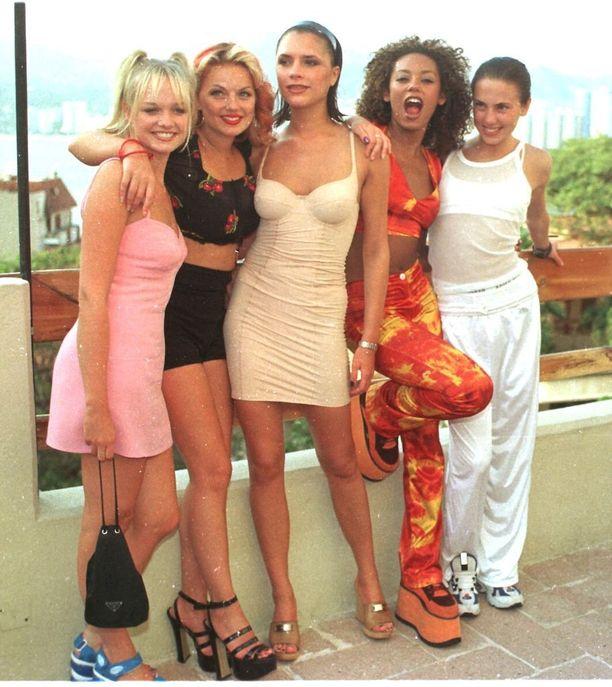 Ysäribändi Spice Girls on vielä voimissaan ainakin polttarisoittolistoilla.