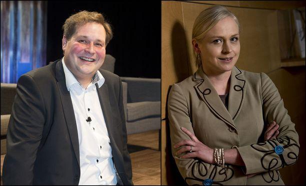Tänään ääneen pääsevät Jethro Rostedt ja Elina Lepomäki.