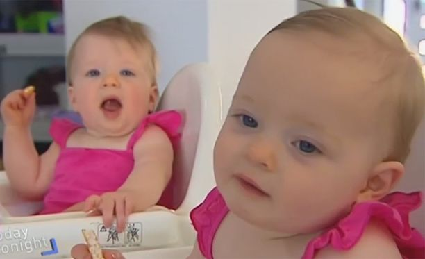 Charlottella ja Olivialla on jopa eri veriryhmä.
