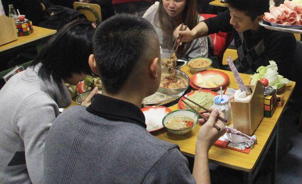 Kiinassa ravintoloitsijan konsepti ei lähtenyt lentoon. Kuvan ravintola sijaitsee Pekingissä.