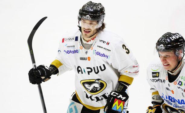 Charles Bertrandin ja Lasse Kukkosen Kärpät nousi jälleen suosta.
