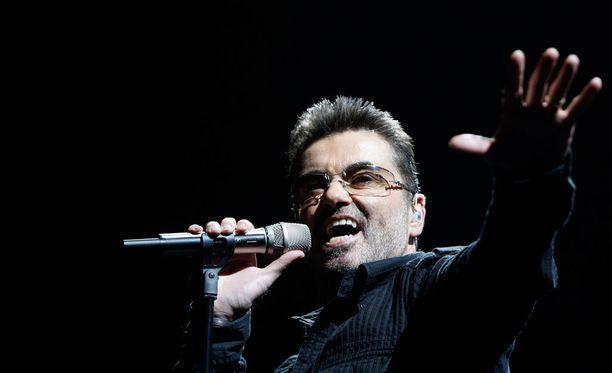George Michael maailmankiertueella vuonna 2008.