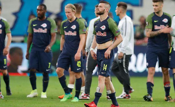 Keskiviikon vetovihje povaa kunniaa RB Salzburgille.