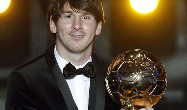 Lionel Messille sataa pokaaleja.