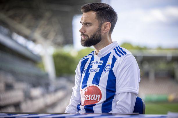 Tim Sparvin HJK-debyyttiä odotetaan.