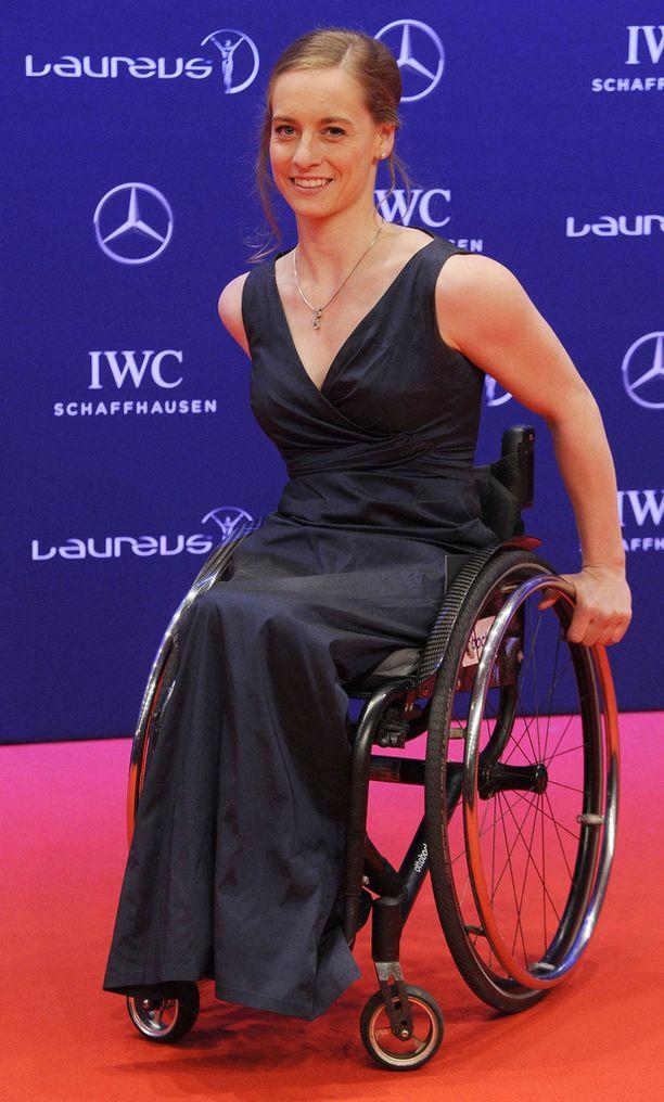 Grünberg osallistui huhtikuussa Laureus-urheilugaalaan.
