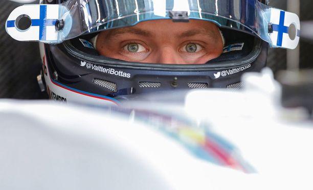 Valtteri Bottas jäi Monzassa kuudenneksi.