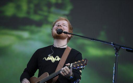 Ed Sheeran julkaisi somessa kirjeen faneilleen – jää tauolle