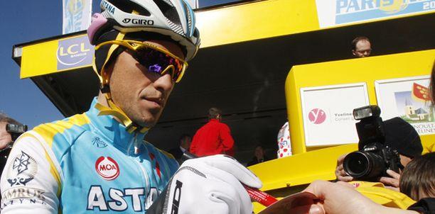 Seuraava etappi huolestuttaa Alberto Contadoria.