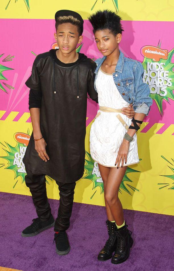 Willow ja Jaden Smith.