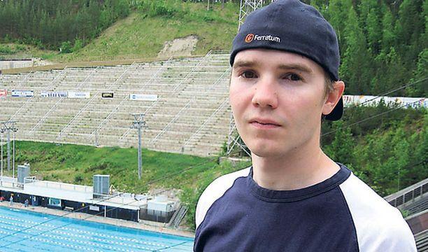 Harri Olli oli kesän kisoissa Suomen paras mäkimies.