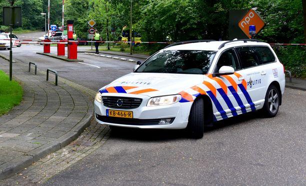 Poliisi on estänyt pääsyn tapahtumapaikalle.
