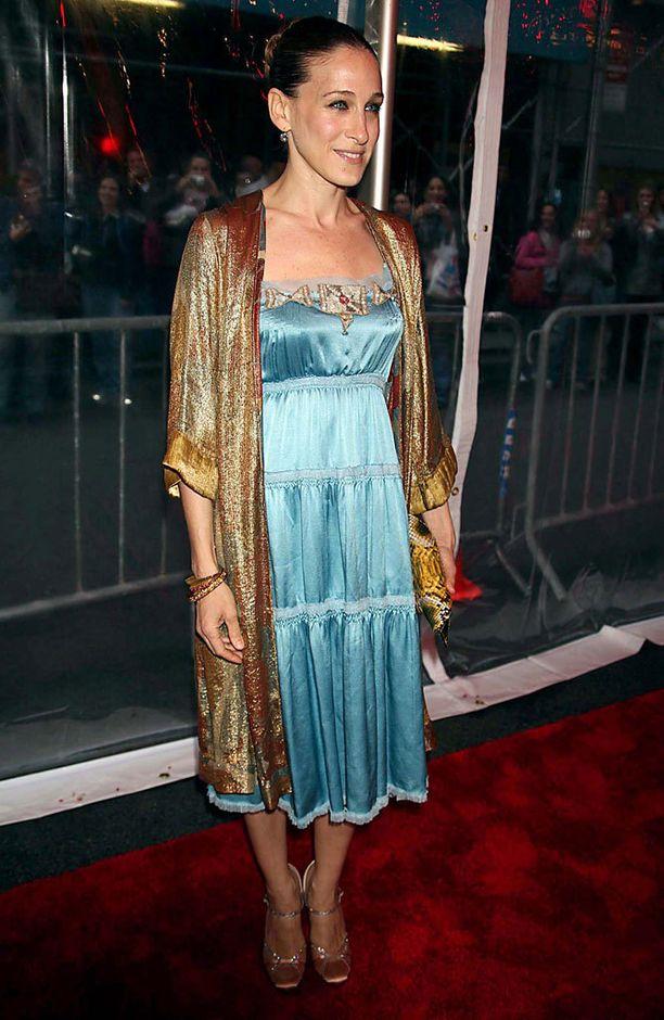 2006: Sarah Jessicaa pukevat myös boheemit tyylit.