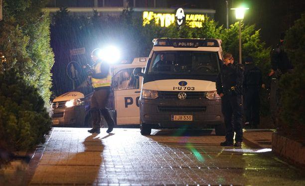 Ampuminen tapahtui maanantai-iltana Myyrmäessä.