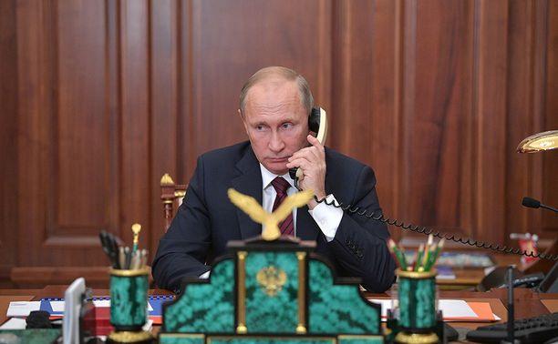 Putin kiitti Trumpia puhelimitse. Arkistokuva.